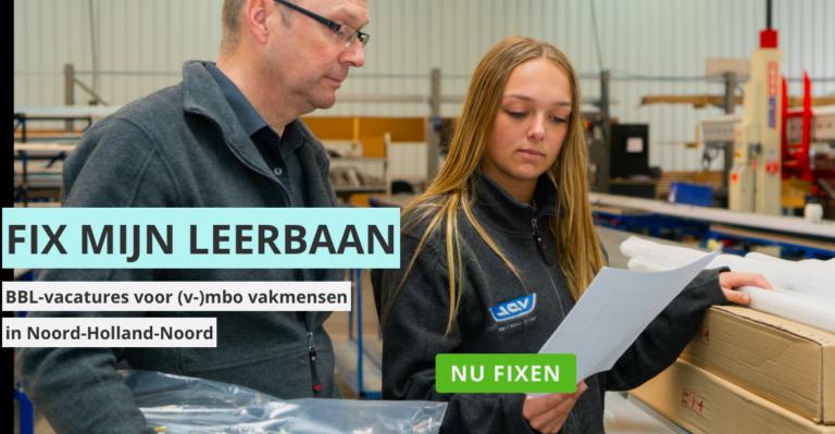 FIX MIJN LEERBAAN NOORD-HOLLAND-NOORD