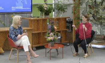 Mona Keijzer in gesprek over vrijheid met studenten Clusius College Hoorn